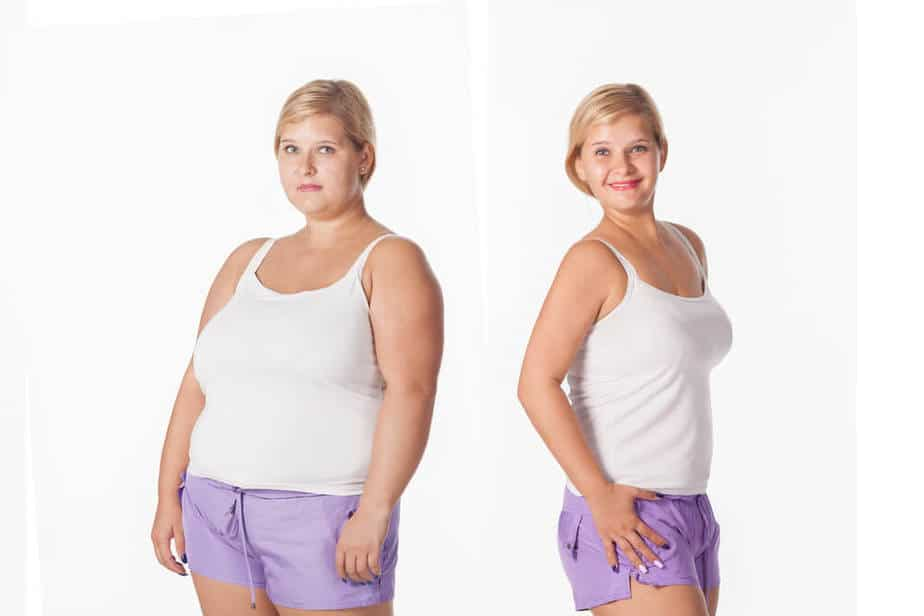 Insulin Resistance - A girl before and after treatment.