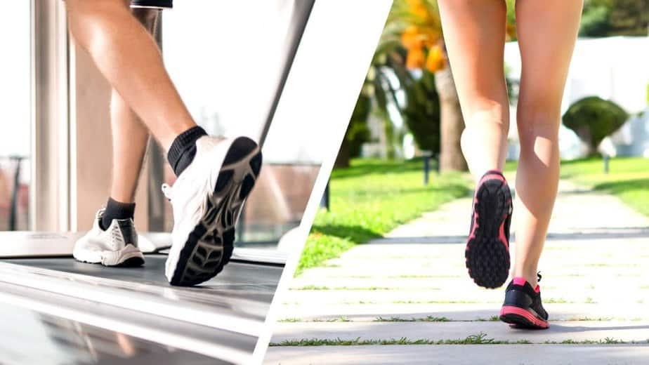 Here are some tips to help you lose weight - running vs treadmill.