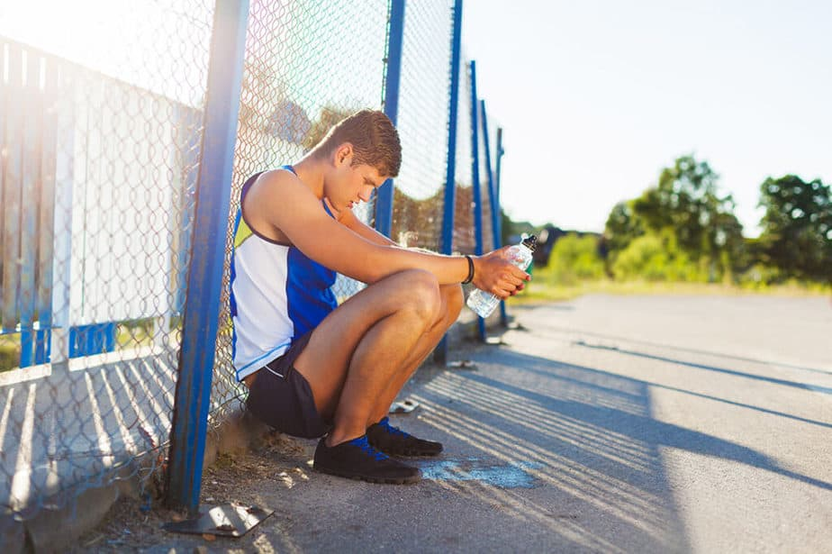 Tips on How to Stay Healthy as a Pro Athlete  - An athlete is resting.