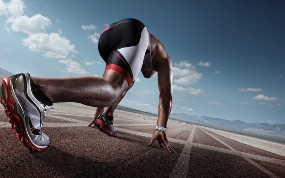 Tips on How to Stay Healthy as a Pro Athlete - an athlete guy is preparing for running.