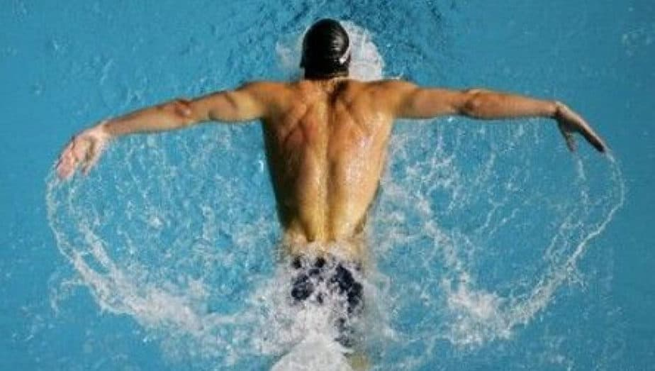 Swim for Better Health - Muscles activated during swimming.