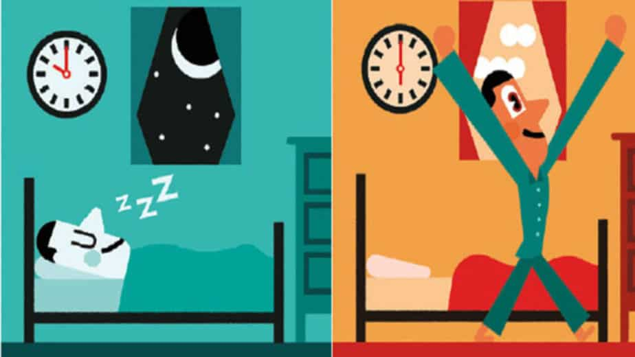 5 Tips to Overcome Laziness - Going to bed early.