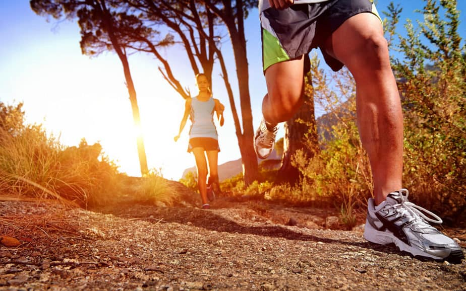 Simple Exercises in Nature and Simultaneous Fat Burning - Interval training in Nature.
