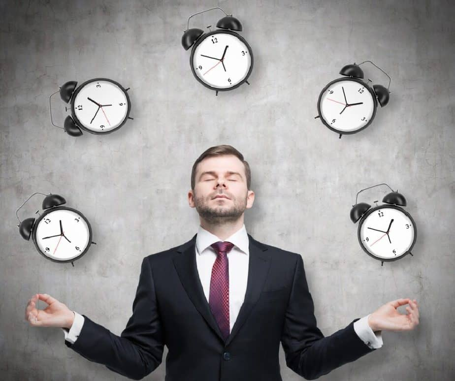 How to Fight Stress with Simple Cardio Exercises? - A businessman is pondering about time management.