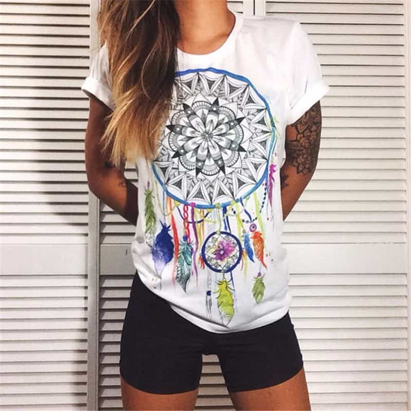 How to Look Sharp on Casual Wear-Tips for Women - Casual T-Shirt.